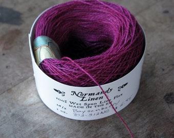 Boysenberry 16/2 Normandy Linen