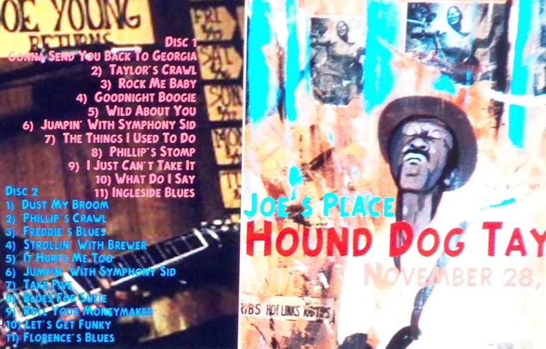 Hound Dog Taylor--11-28-1972--Joe's Place---- Cambridge,MA