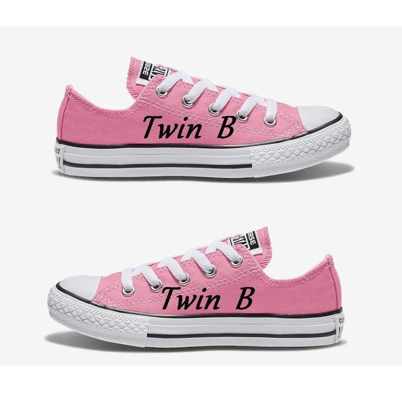 dc5797bbe18384 Twin B Kids Size Converse Hand Painted