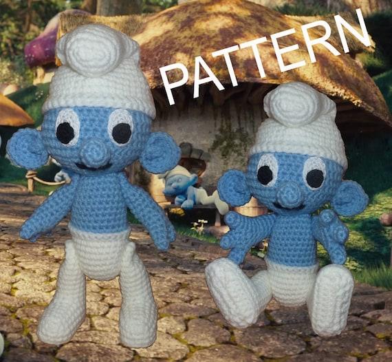 Crochet Smurfette amigurumi pattern - Amigurumi Today | 526x570