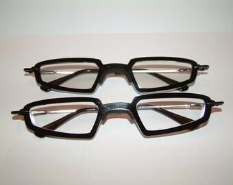 514be1b9348c8 Anime black triangular frame cosplay costume costume glasses