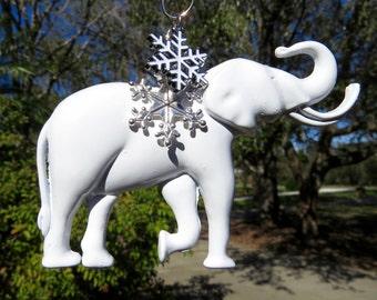 WHITE ELEPHANT EXCHANGE Tree Jewelry Christmas Ornament