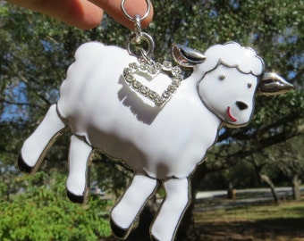 LITTLE LAMB Tree Jewelry Christmas Ornament Sheep Lamb