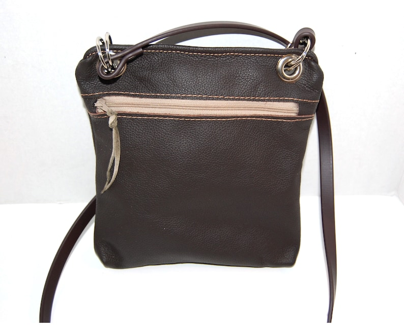 Brown Leather Sling Bag Brown Leather Crossbody Leather  4bd880be38155