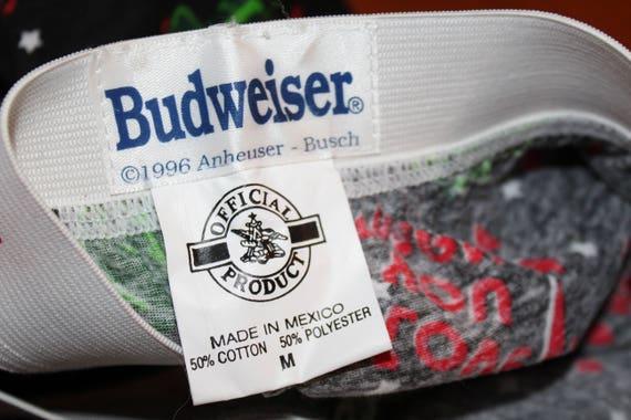 BUDWEISER Beer Bottle CAN logo Vintage Retro MEN/'S NEW Sleep LOUNGE Pajama Pants