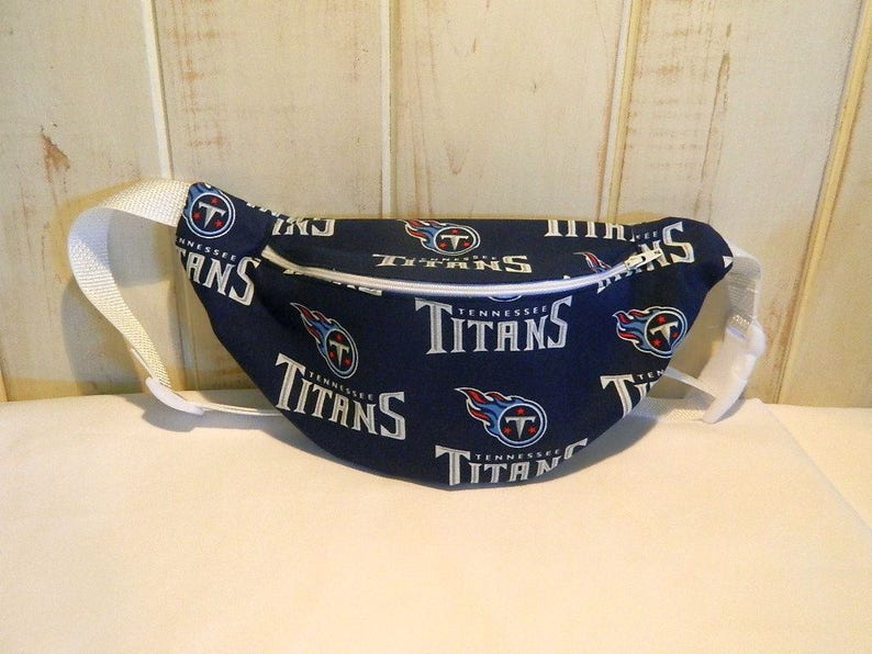 Top Fanny Pack Hip Bag NFL Football Theme Tennessee Titans | Etsy  supplier