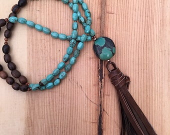 Turquoise & Horsehair