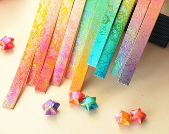 Origami Lucky Star Tutorial ⭐️ Easy DIY ⭐️ Paper Kawaii - YouTube | 270x340