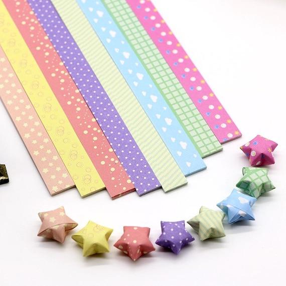 Cut + fold paper stars | MINI ECO | 570x570