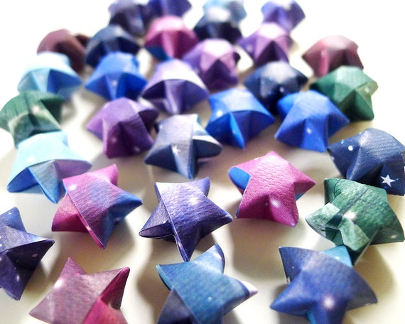 How to Make Origami Lucky Stars | 456x570