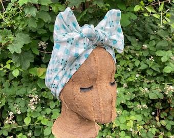 1940s Style Dusting Headwrap