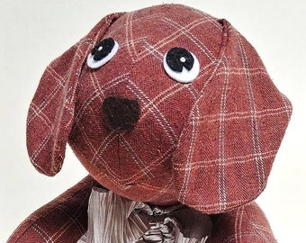 Memory Dog/puppy/stuffed animal/Custom made/From shirt/in memory of/loved one/mother/father