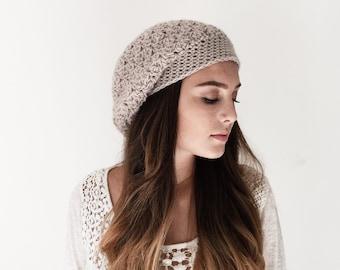 a6609887074 Crochet Pattern Hat Pattern Beanie Hat Pattern Beret Hat HDC Textured Beanie  Pattern
