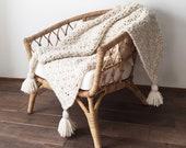 Crochet Pattern Chunky Blanket Throw Afghan Pattern Photo Tutorial The SUMMIT Blanket
