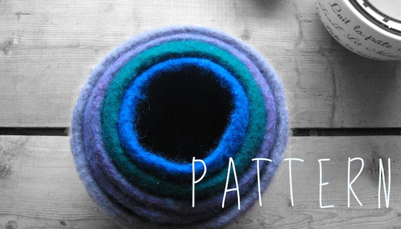 FELTED BOWL PATTERN tutorial  nesting bowls  make five image 0