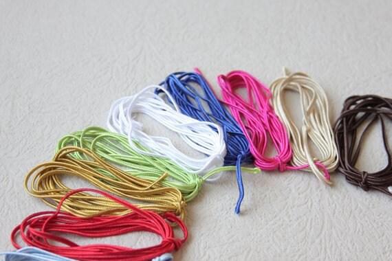 VENTE Soutache tresse MINI SET, 23 couleurs couleurs 23 1 mètres chacune, galon de Passementerie, Soutache cordon, cordon de Passementerie garniture, ganse, tresse russe b5a015