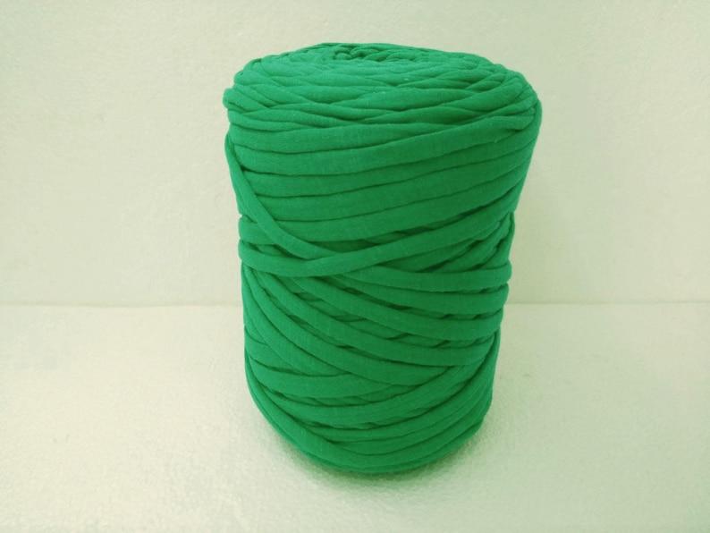 Zpahetti Recycled Thick T Shirt Yarn Crochet Knitting Tshirt For Bags Baskets P2