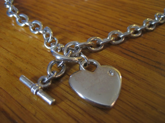 Chunky Multi Strand real leather Choker necklace with A Large Love Heart Pendant