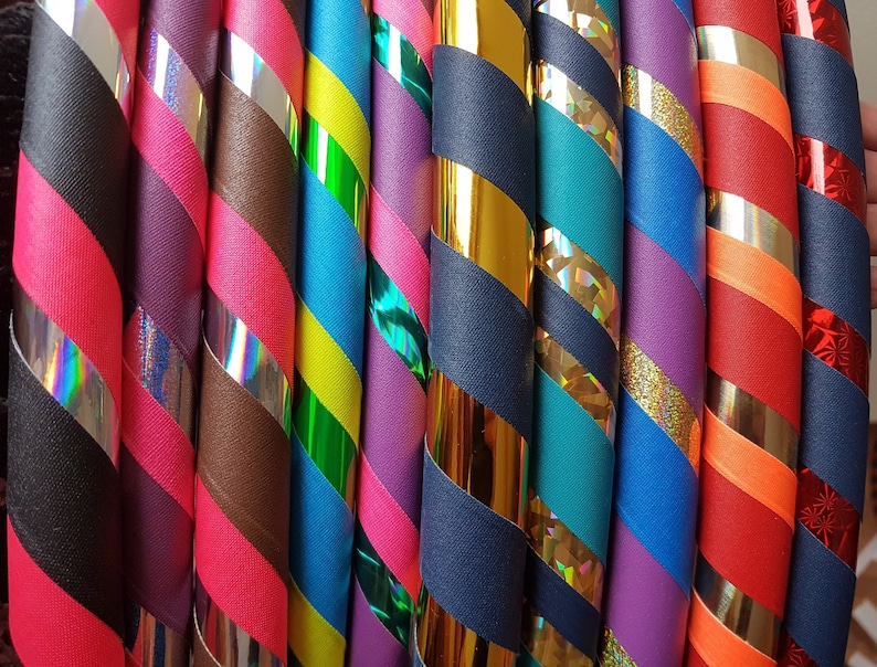 Travel Fitness Hula Hoop Reifen 25 cm ANFÄNGER Wunschfarben image 0