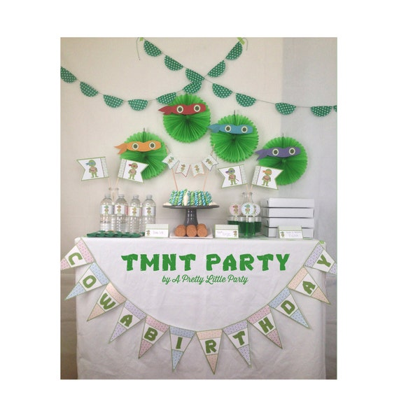TMNT Super Party Pack - Teenage Mutant Ninja Turtles - Ninja - Party Supplies