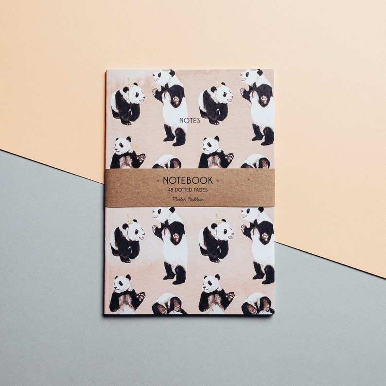 26. Panda Party Notebook