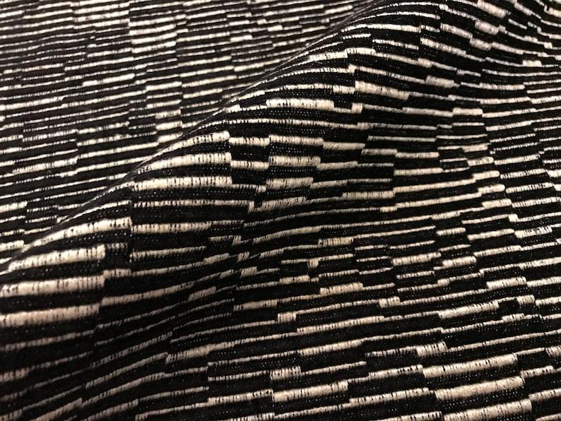 Manuel Canovas Paris Noir MARZAC French Woven Ottoman Texture Fabric 2.1 yds 4885-09 Below Wholesale Retails 236.00 yd