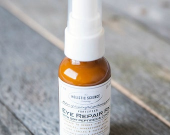 Fortified Eye Repair Rx, light gel-cream with Soy Peptides and CoQ10 1oz