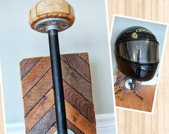 Wall Mountable Helmet And Key Rack. Handmade Tobacco Slats Motorcycle  Motorcycles Helmet Storage Woodwork Restoration Hardware