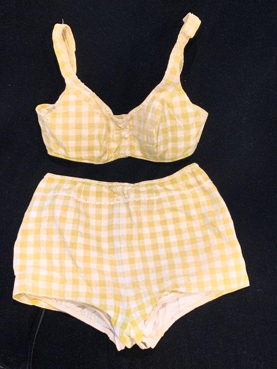 Vintage Catalina Inc. California Gingham Bikini