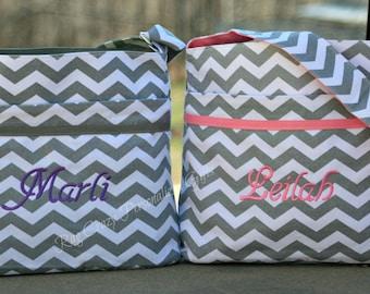 Diaper Bag, Chevron Diaper Bag, Personalized Diaper Bag, Baby Boy Diaper Bag, Baby Girl Diaper bag, Monogrammed Baby