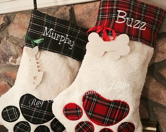 Christmas Stockings, Pet Christmas Stockings, Family Stockings, Pet Stockings, Personalized Stockings, Dog stockings, Cat stockings