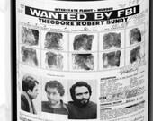 RETRO Classic Nostalgia Ted Bundy Wanted Poster Coffee Mug 11oz True Crime Serial Killer Jeffrey Dahmer Charles Manson For Him Valentines