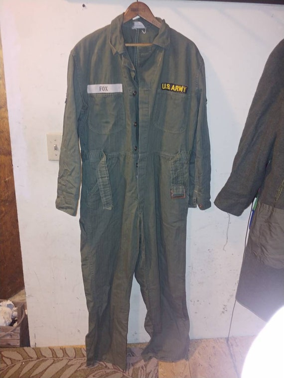 WW2? US Army regulation Jump Suit Overalls Coveral