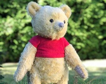 Winnie The Pooh, teddy bear, Winnie-the-Pooh, plush, Winnie teddy, Pooh teddy, plush bear, classic Winnie pooh, Christopher robin 2018 bear