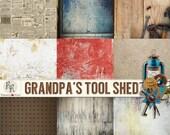 Grandpas Tool Shed Paper Set