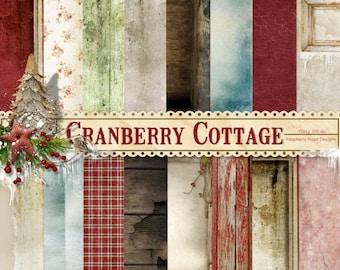 Cranberry Cottage Paper Set