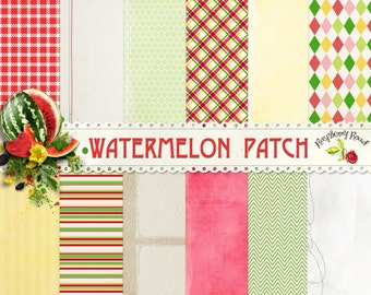 Watermelon Patch Paper Set