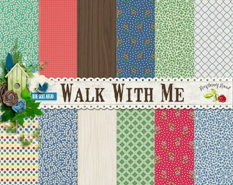 Walk With Me Paper Set