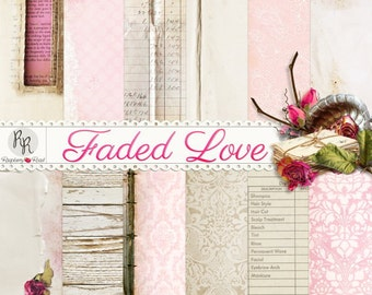 Faded Love Paper Set