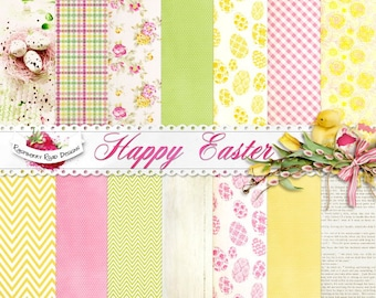 Happy Easter Paper Set
