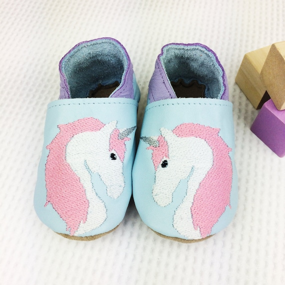 personalised unicorn baby shoes unicorn childrens slippers. Black Bedroom Furniture Sets. Home Design Ideas