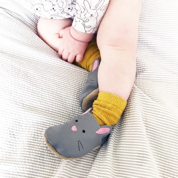 Hase Baby Schuhe Bunny Baby Schuhe Tier Baby Schuhe Etsy