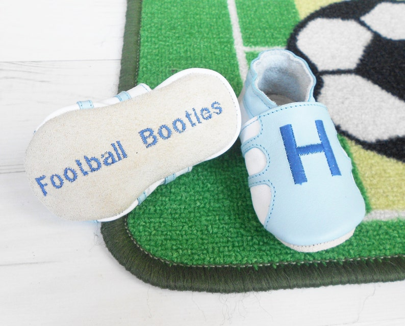 c064ef121fc4 Baby Football Shoes Baby Soccer Booties babies first shoes