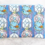 Zipper Pouch - Princess Gift - Gift For Her - Reusable Snack Bag in Watercolor Cinderella