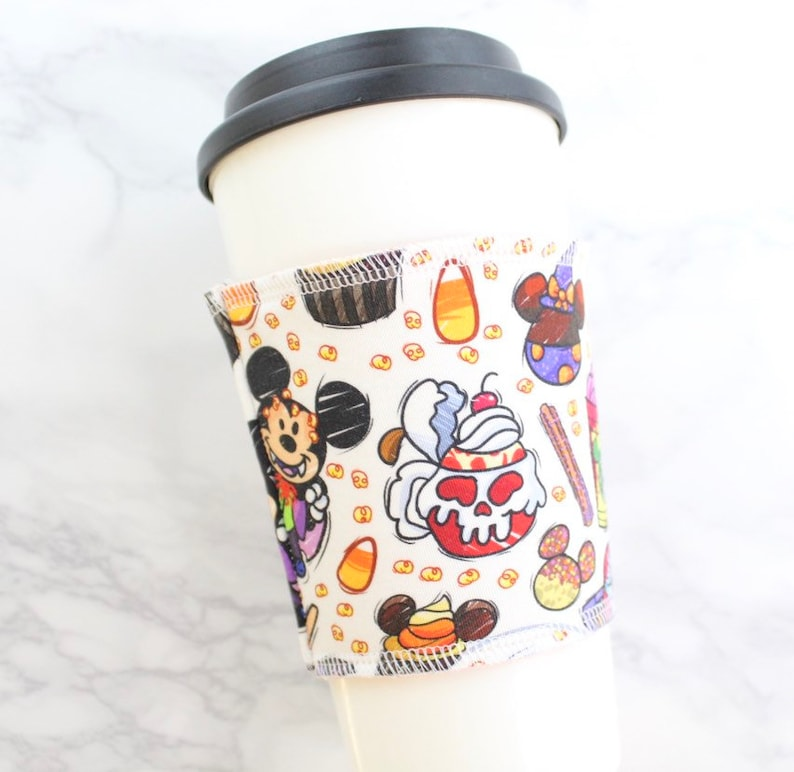 Coffee Sleeve  Reusable Cup Sleeve  Cup Cozie in Tricky image 0