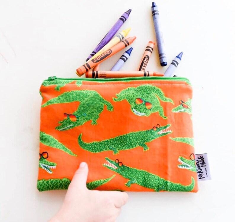 Reusable Snack Bag  Reusable Lunch Bag  Eco Friendly  Water image 0