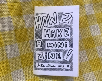 How to Make a Mini-Zine!