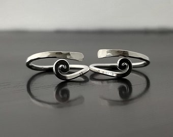 Other Fine Jewellery Fine Jewellery 925 Solid Sterling Silver Beautiful Handmade Pair Of Toe Rings 1502