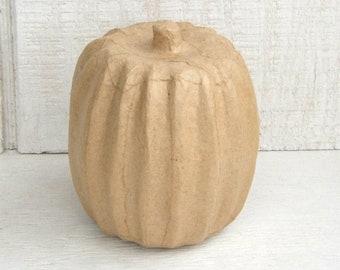 Darice Paper Mache Pumpkin 6.5 X 4 Inches