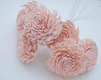 Blush Pink Flowers Etsy